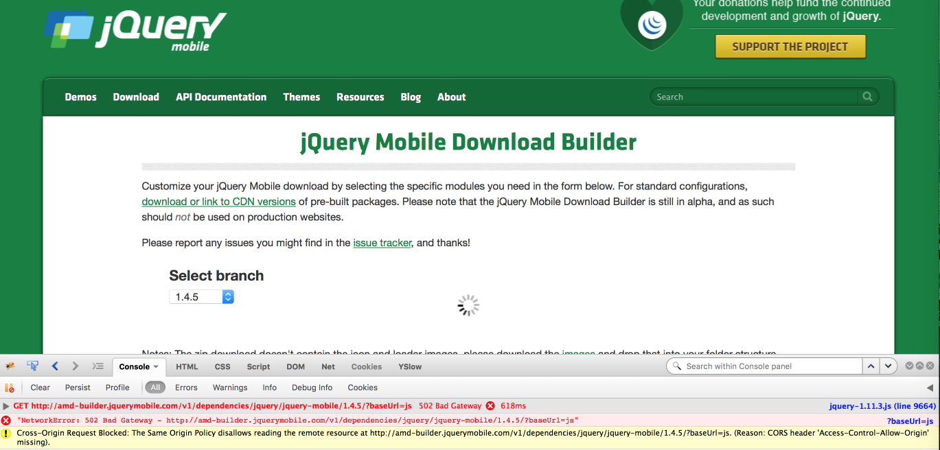Download builder: Customize for speed not working - jQuery Forum
