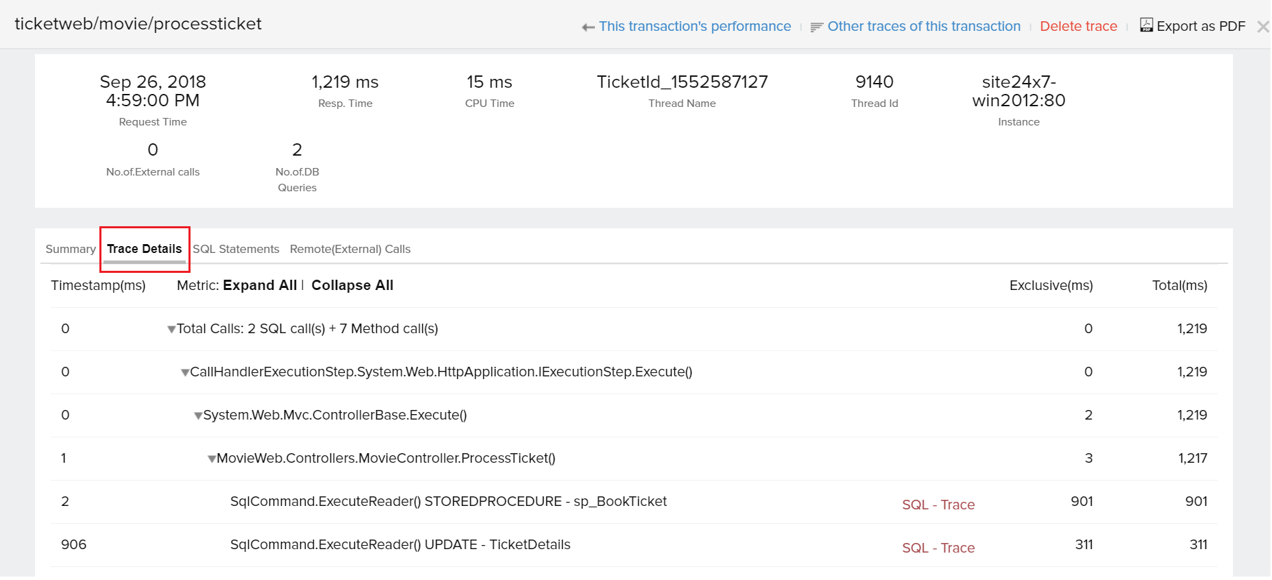 APM monitoring in Azure App Service - Site24x7 Forum