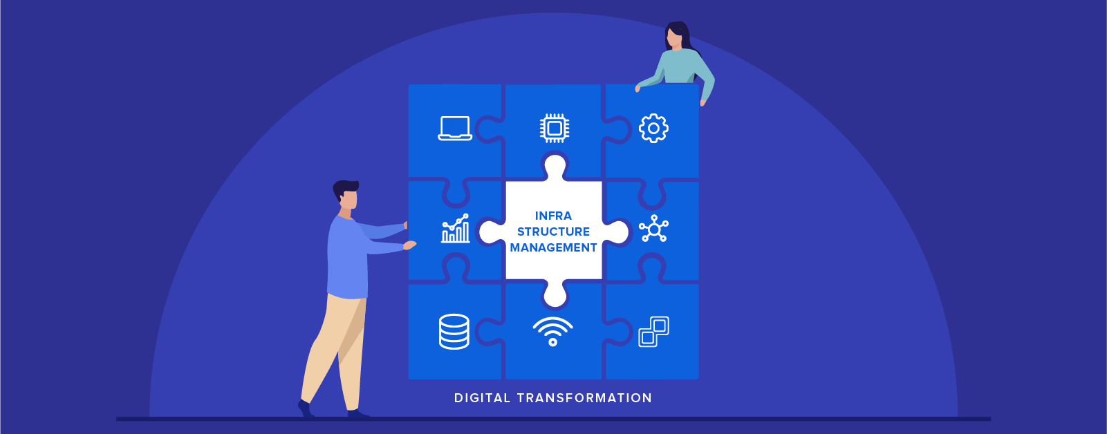 Infrastructure management and digital transformation